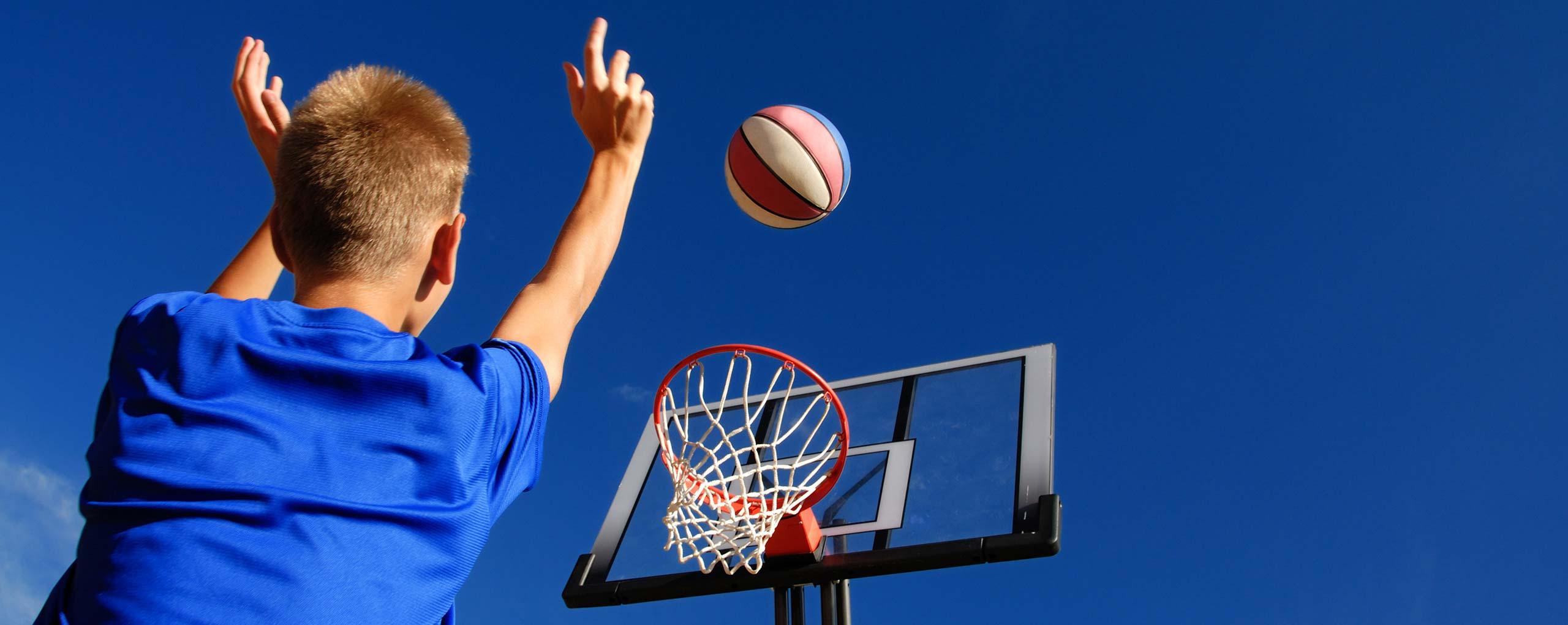 Balsport tijdens PMT les